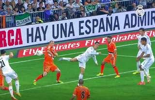 Cristiano Ronaldo's stunning back-heel vs Valencia in 2014
