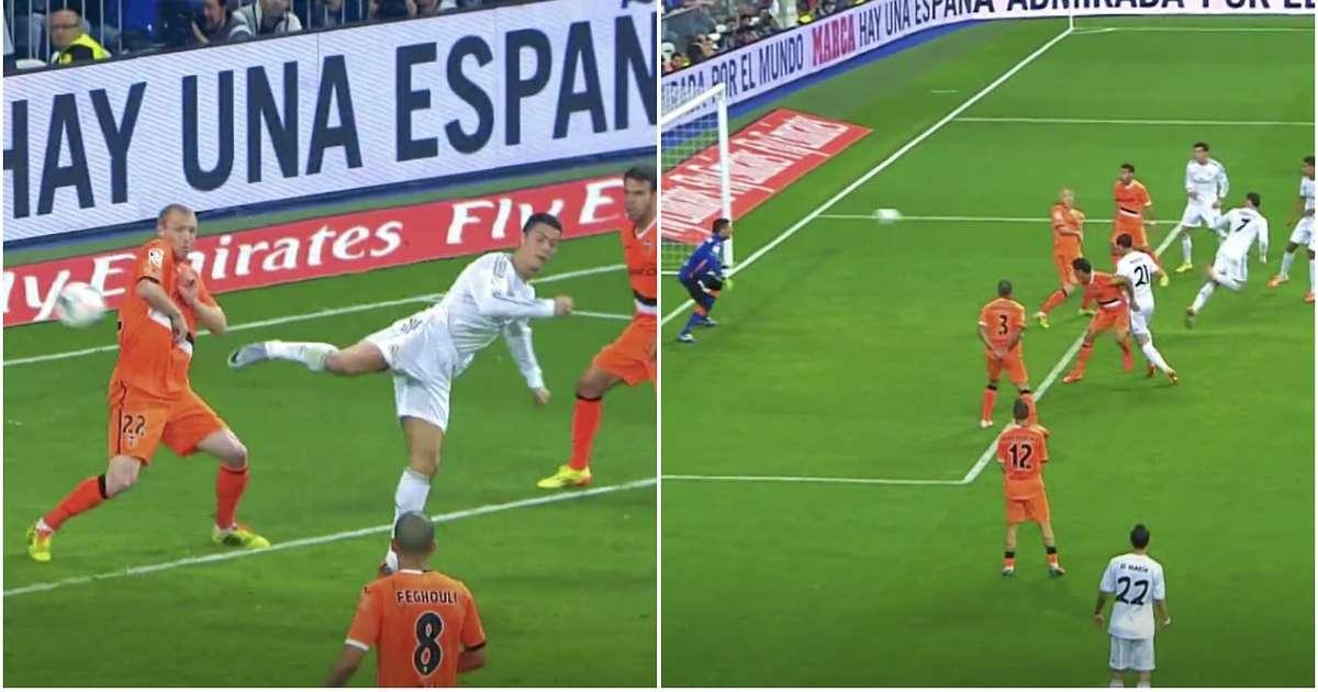 Cristiano Ronaldo's 90th-minute back-heel goal v Valencia is seriously underrated