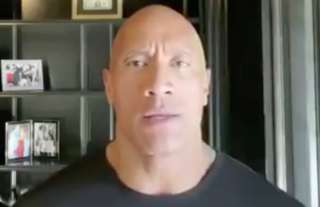Dwayne Johnson sends his message to the POTUS