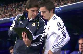 Pablo Sarabia played for Real Madrid under Jose Mourinho!