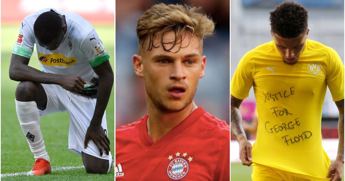 Joshua Kimmich wants white players to protest on the pitch about killing of George Floyd