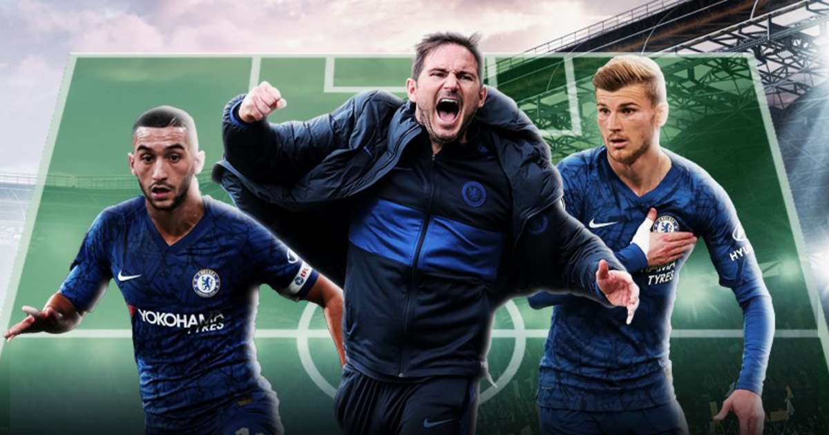 Three possible ways Chelsea could line-up next season with Timo Werner and Hakim Ziyech | GiveMeSport