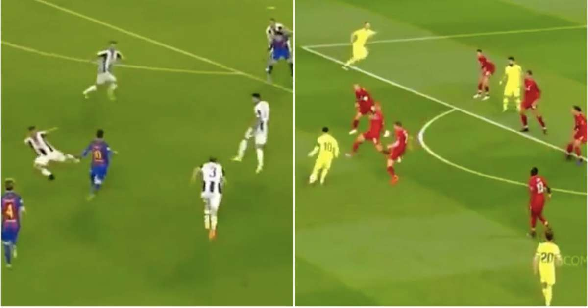 Video shows 'Messi disappearing in big Champions League games' is complete nonsense