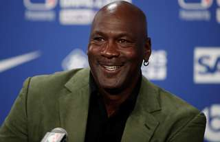 Basketball legend Jordan is one of the greatest athletes of all time.