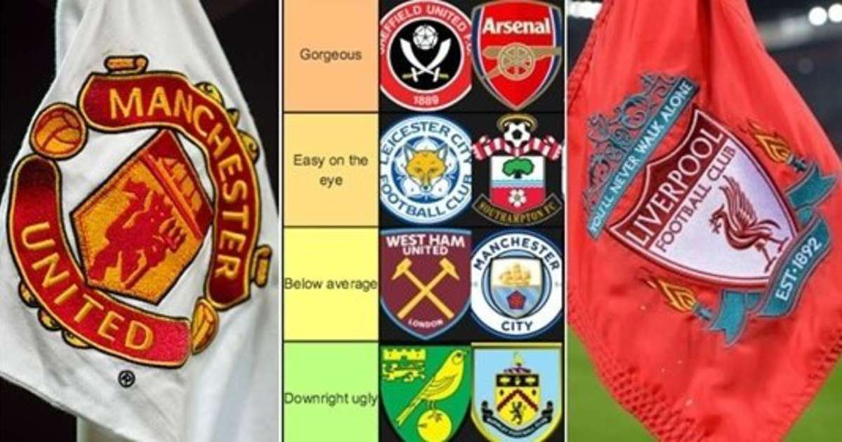 Premier League Badges Ranked From Downright Ugly To Simply Beautiful Givemesport