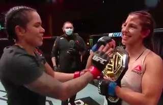 Amanda Nunes defeated Felicia Spencer at UFC 250