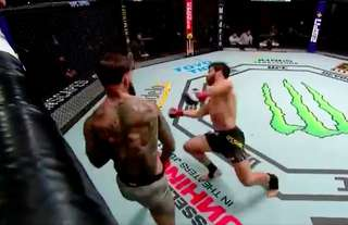 Cody Garbrandt KO'd Raphael Assuncao with just seconds remaining in the second round