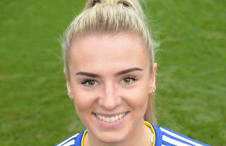 Birmingham City midfielder Emma Kelly