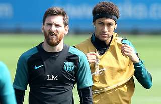 Lionel Messi & Neymar both make the top 10
