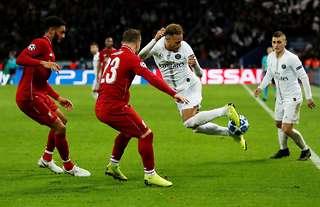 Neymar performed his trademark rainbow flick vs Liverpool