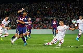 Luis Suarez's back-heel goal vs Mallorca was pure genius