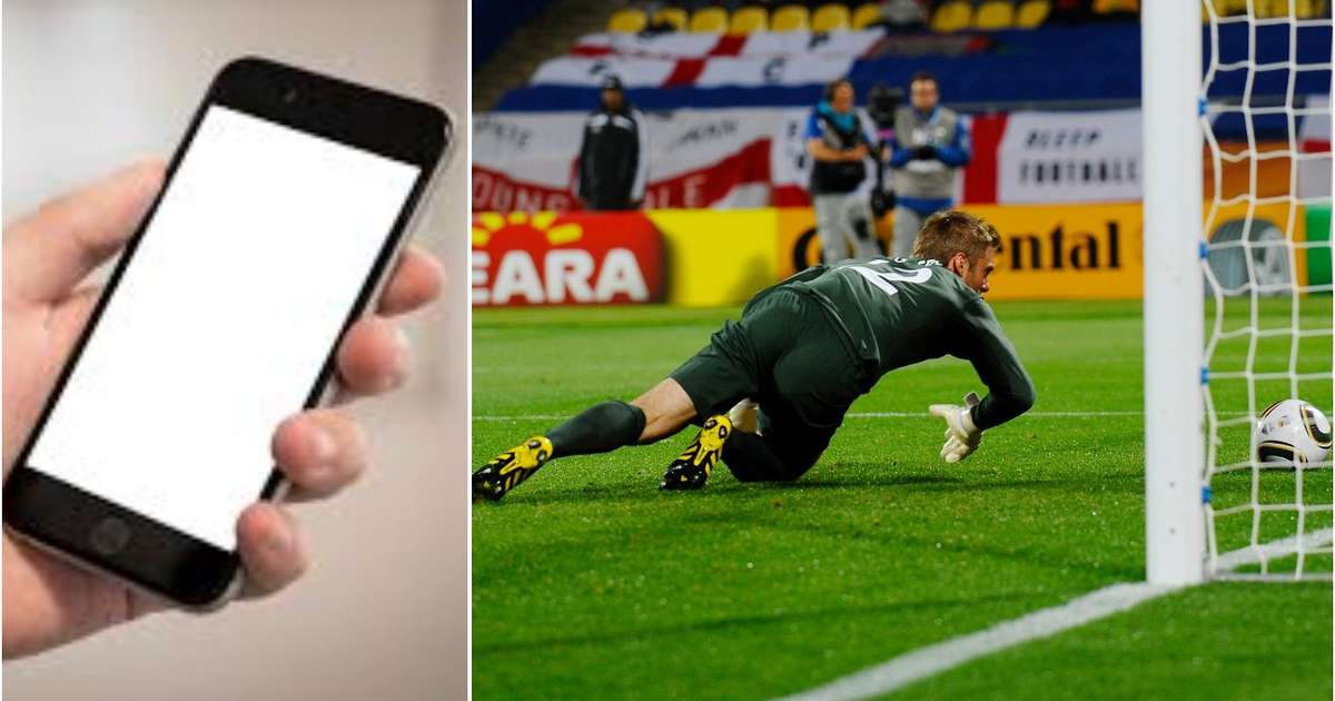 There's an app named 'Rent A Keeper' that helps football teams find a goalkeeper