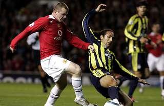Wayne Rooney scored a hat-trick vs Fenerbahce on his Man Utd debut