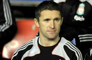 Robbie Keane struggled for goals during his short stint with Liverpool
