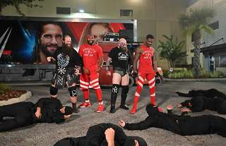 The tag team match at Backlash was strange