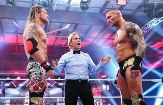 Edge and Orton clashed at Backlash