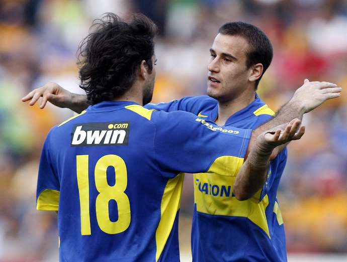 Marino was a Boca Juniors player for five years