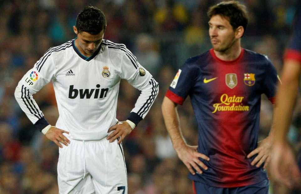 Cristiano Ronaldo And Lionel Messi Red Card Incidents Compared In La Liga Games Givemesport