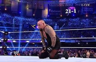 Undertaker's streak was broken at WM30