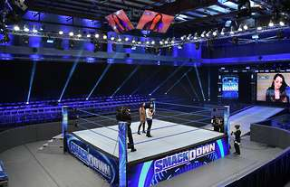 WWE continue to run shows at the PC