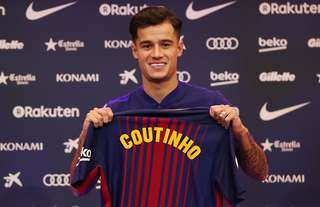 Philippe Coutinho's transfer to Barcelona is one of the most expensive of all-time
