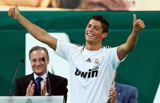 Cristiano Ronaldo signed for Real Madrid in 2009 for £80m