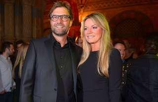 Jurgen Klopp and his wife, Ulla