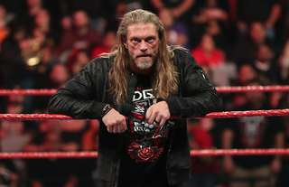 Edge shared awful images of his injury