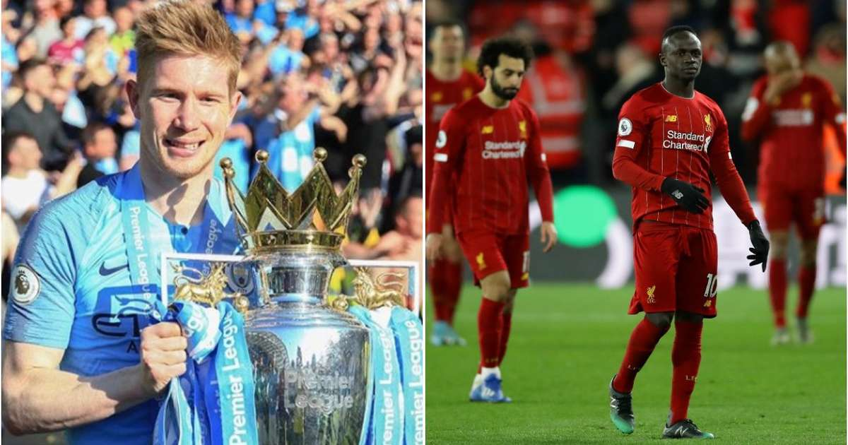 Liverpool players can't even lace Kevin de Bruyne's boots ...