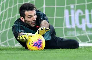 Juventus legend Gianluigi Buffon is currently in second-place