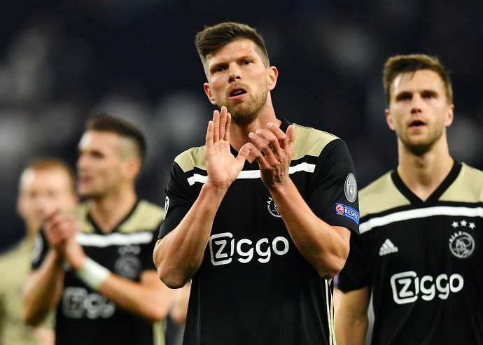 Huntelaar with Ajax