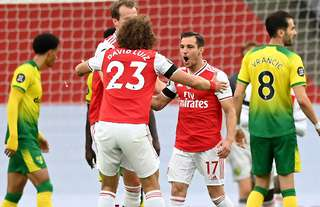 Arsenal beat Norwich 4-0