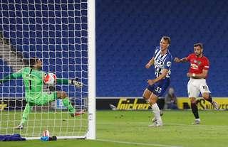Fernandes scored a screamer vs Brighton
