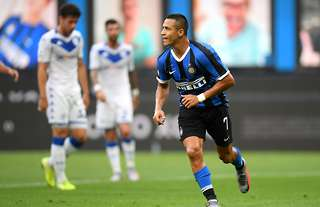 Alexis Sanchez was on fire during Inter Milan 6-0 Brescia