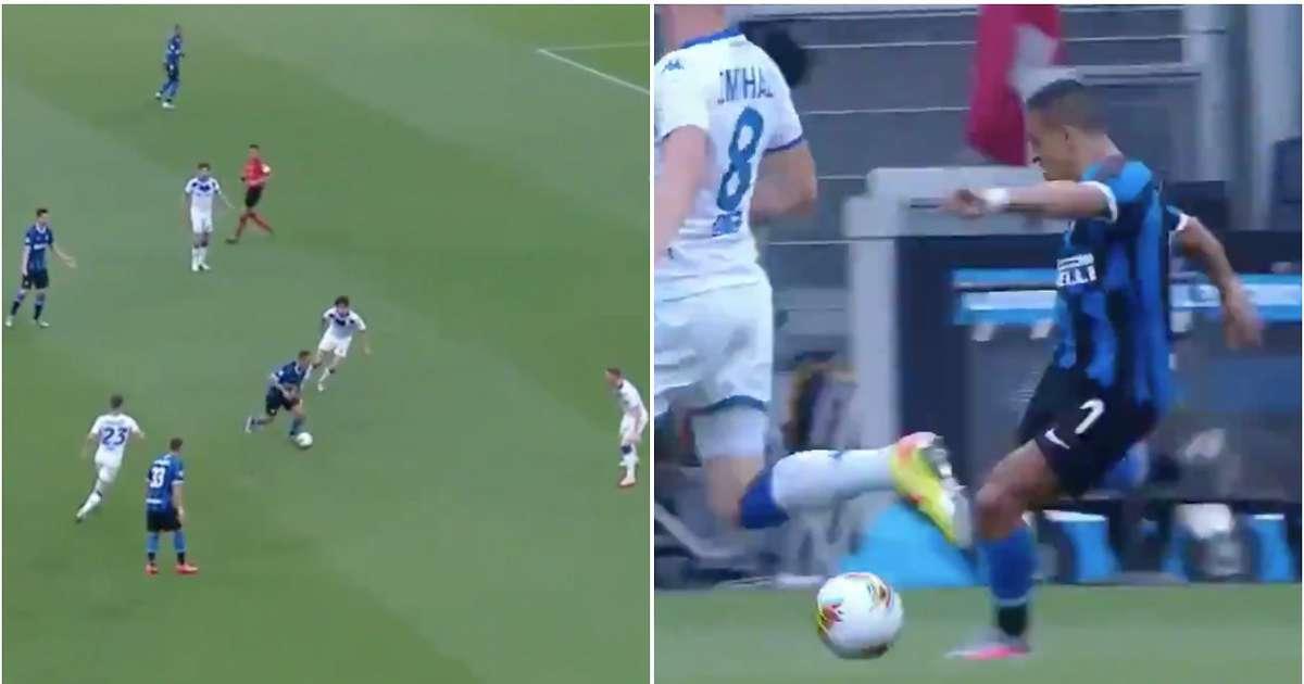 Alexis Sanchez's highlights vs Brescia are brilliant - 2020 just gets more crazy
