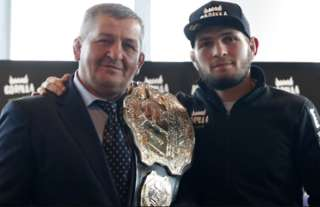 Khabib and his father