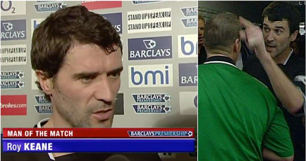 Roy Keane's post-match interview after Patrick Vieira tunnel incident is one of the best