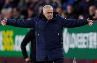 Mourinho has struggled at Spurs since arriving