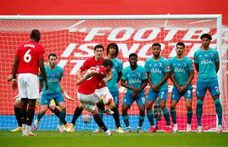 Bruno Fernandes' free-kick vs Bournemouth was a cracker