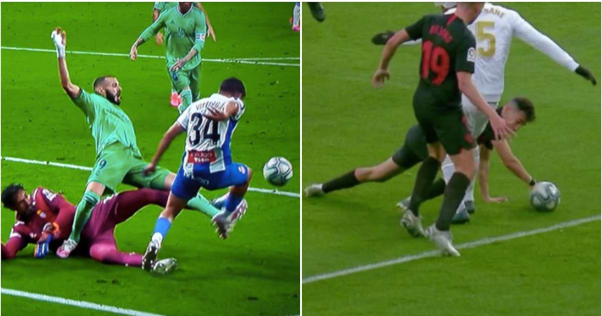 Real Madrid fan creates thread of VAR decisions that have gone against them in 2019/20