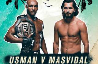Kamaru Usman vs Jorge Masvidal, let's go!