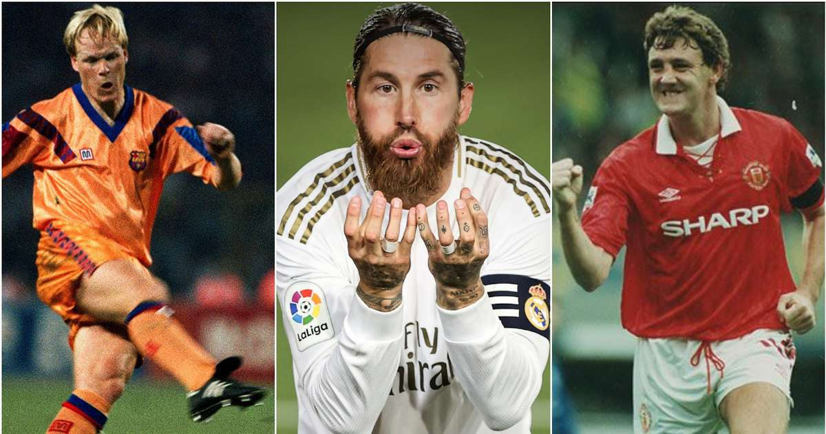 Sergio Ramos now has more goals than all but FIVE defenders in football history