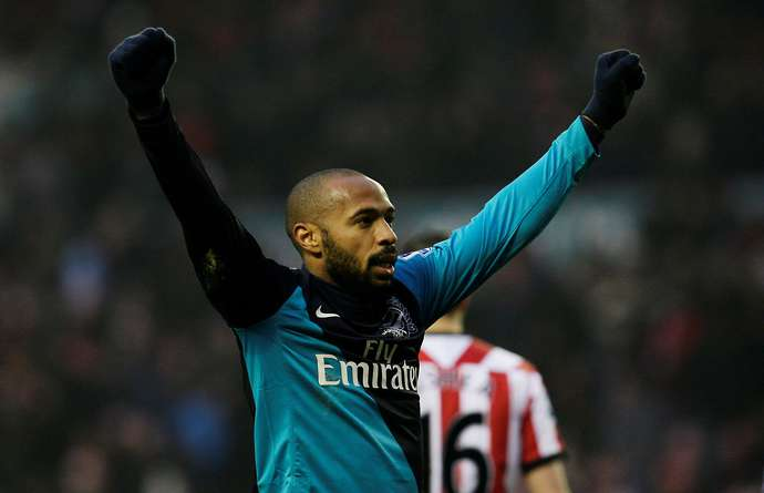Henry with Arsenal