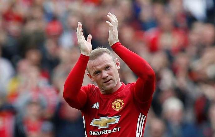 Rooney with Man Utd