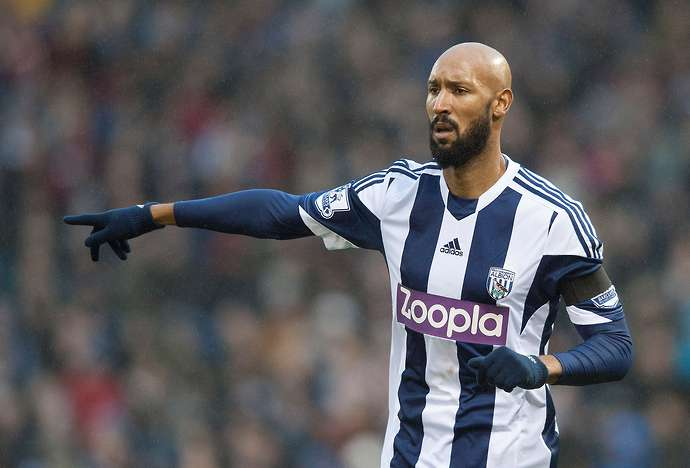 Anelka in action