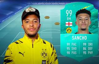 Jadon Sancho has picked his 'Ultimate Team'