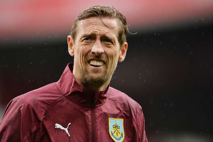 Crouch with Burnley