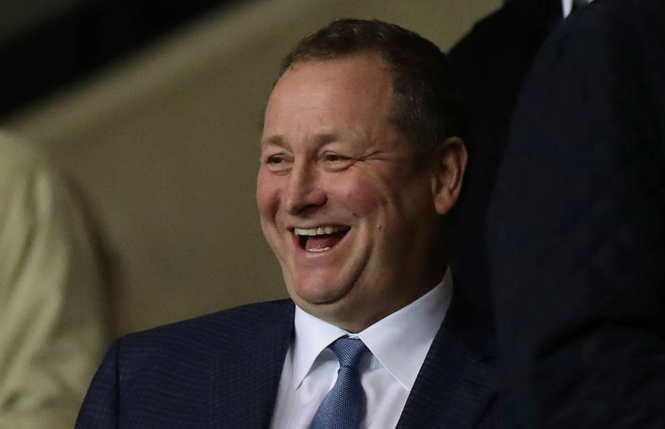 Mike Ashley as owner of Newcastle United F.C.