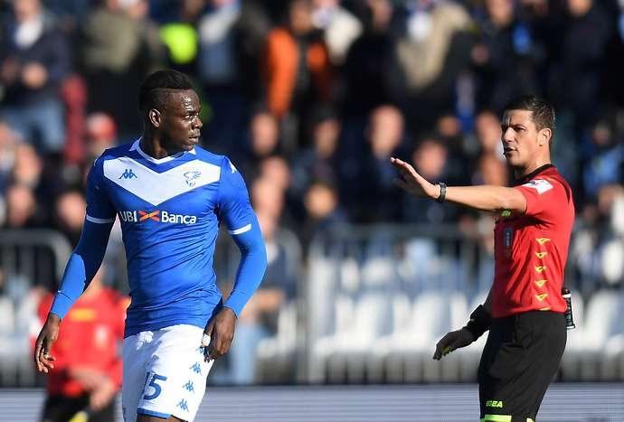 Balotelli with Brescia