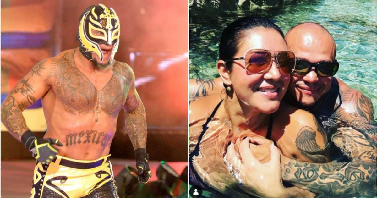 WWE legend Rey Mysterio shares rare photo of himself fully unmasked on Instagram